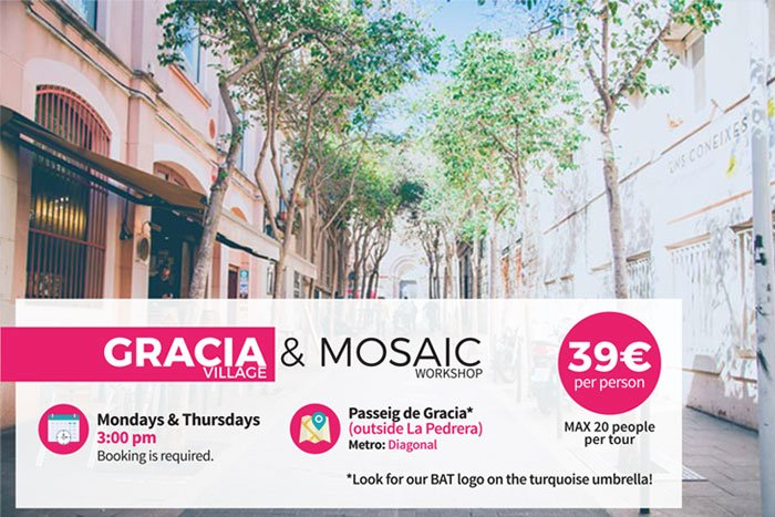 Barcelona gracia experience tour workshop
