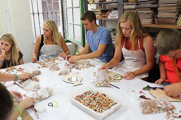 taller de mosaico en barcelona